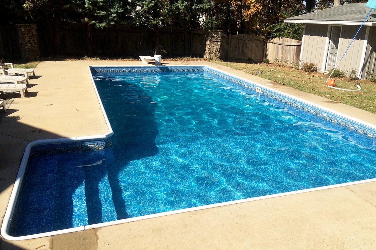 Atlanta Area Pool Liner Replacement Photo Gallery